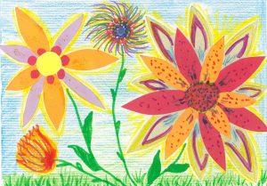 Greeting Card – Flowers
