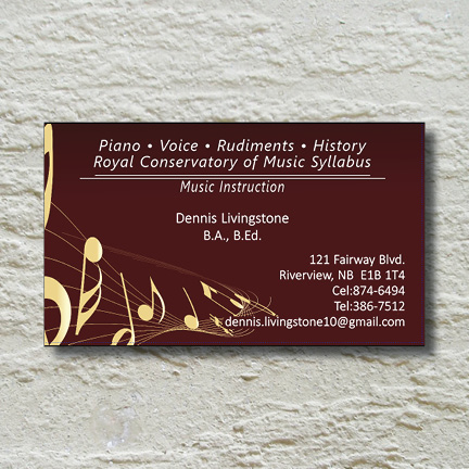 Business Card – Music